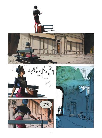 Page 0 Deux passantes dans la nuit tome 1