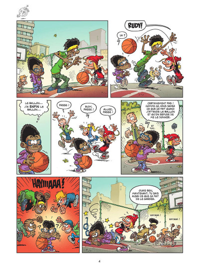 Page 5 Basket dunk tome 5