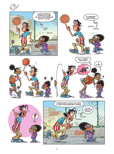 Page 6 Basket dunk tome 5