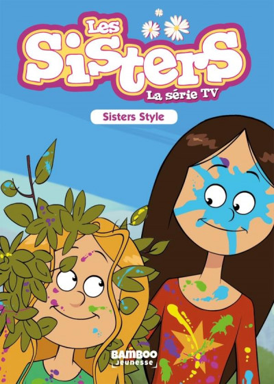 Couverture Les Sisters - roman poche dessin animé tome 19