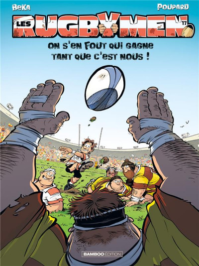 Couverture Les rugbymen tome 17