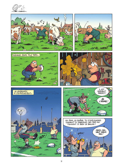 Page 0 Les rugbymen tome 17