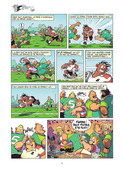 Page 6 Les rugbymen tome 17