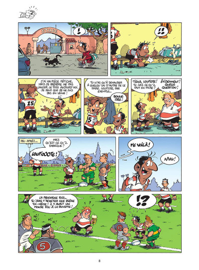 Page 9 Les rugbymen tome 17