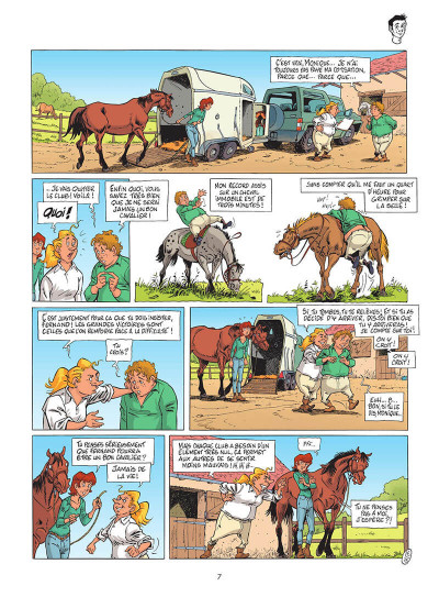 Page 8 Triple galop tome 15