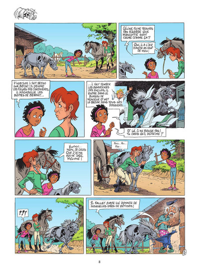 Page 9 Triple galop tome 15