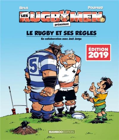 Couverture Les rugbymen - hors série - Le rugby et ses règles