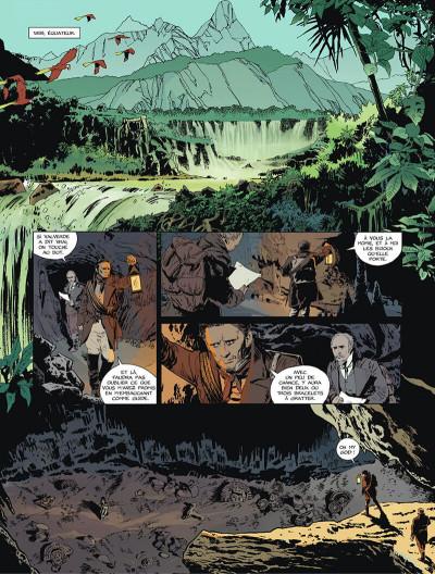 Page 4 L'or du bout du monde tome 1