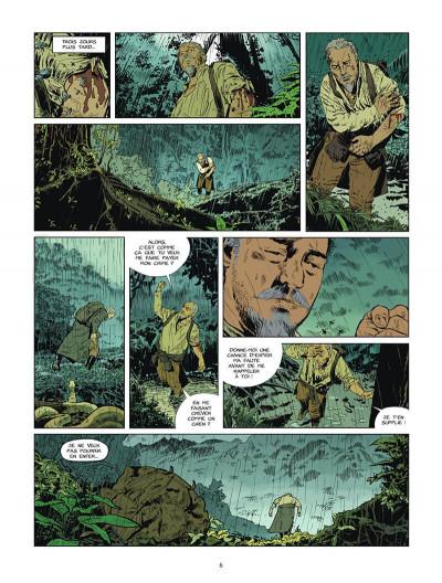 Page 7 L'or du bout du monde tome 1