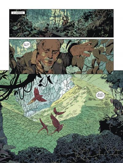 Page 8 L'or du bout du monde tome 1