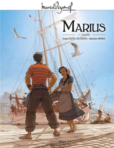 Couverture Marius tome 1