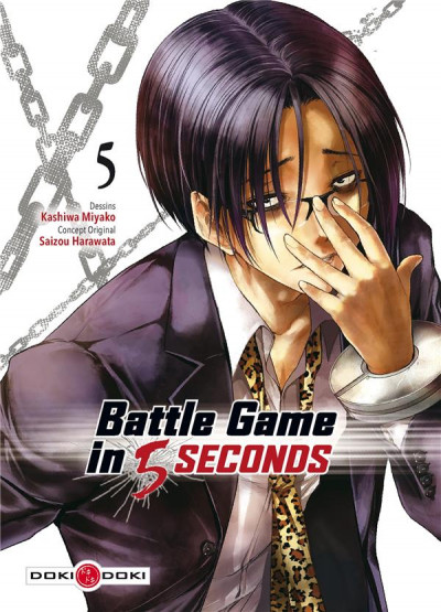 Couverture Battle game in 5 seconds tome 5