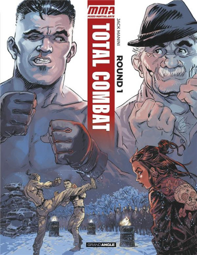 Couverture Total combat tome 1