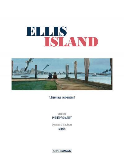 Page 2 Ellis Island tome 1
