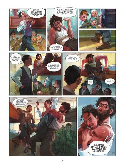 Page 8 Ellis Island tome 1