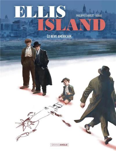 Couverture Ellis island tome 2