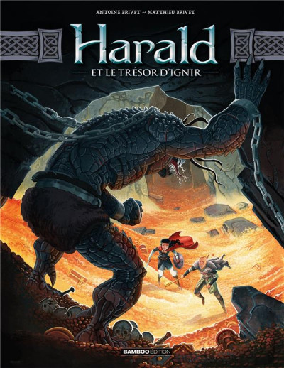 Couverture Harald et le trésor d'Ignir tome 2