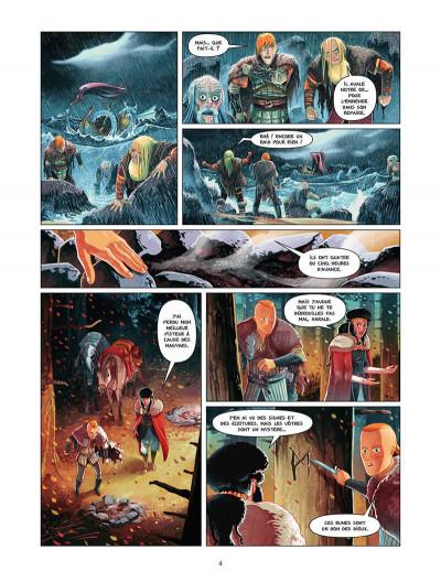 Page 5 Harald et le trésor d'Ignir tome 2