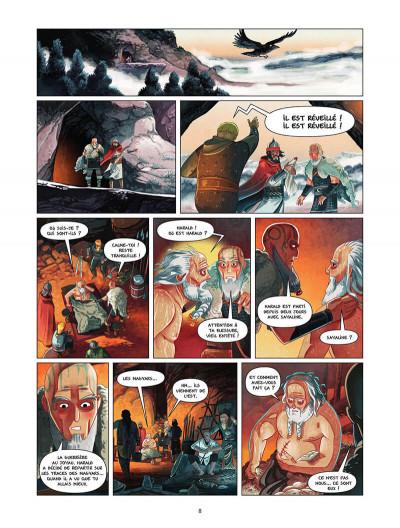 Page 9 Harald et le trésor d'Ignir tome 2