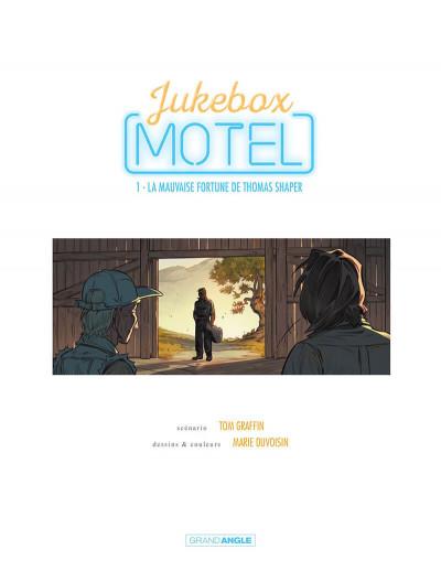 Page 2 Jukebox motel tome 1