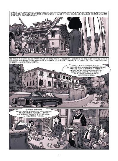 Page 0 Une vie avec Alexandra David-Néel tome 4