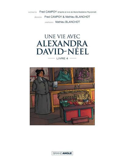 Page 4 Une vie avec Alexandra David-Néel tome 4