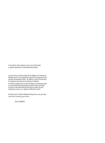 Page 5 Une vie avec Alexandra David-Néel tome 4