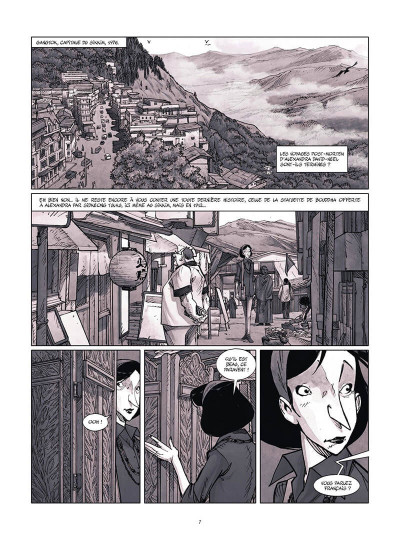 Page 8 Une vie avec Alexandra David-Néel tome 4