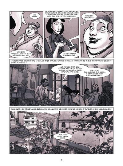 Page 9 Une vie avec Alexandra David-Néel tome 4