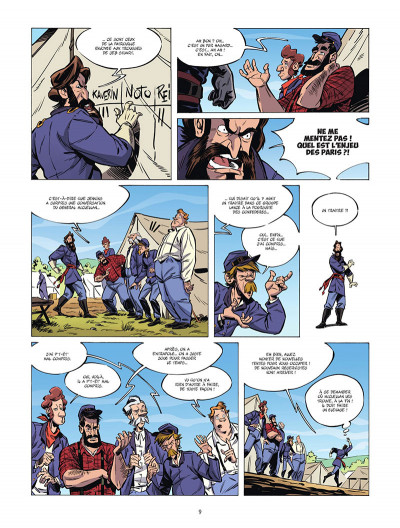 Page 0 Ennemis tome 1