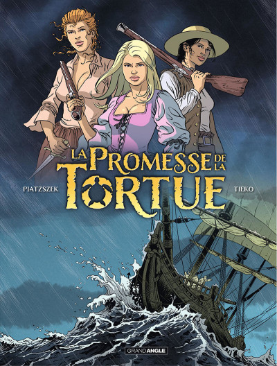 Couverture La promesse de la tortue tome 1