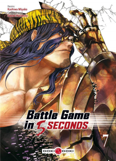 Couverture Battle game in 5 seconds tome 7