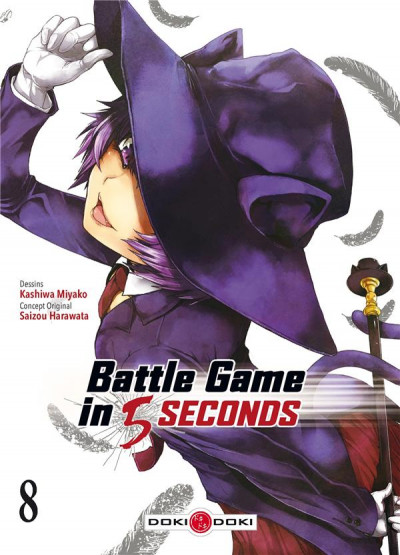 Couverture Battle game in 5 seconds tome 8