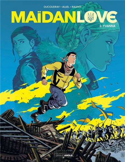Couverture Maidan love tome 2