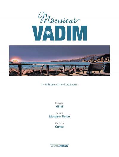 Page 2 Monsieu Vadim tome 1