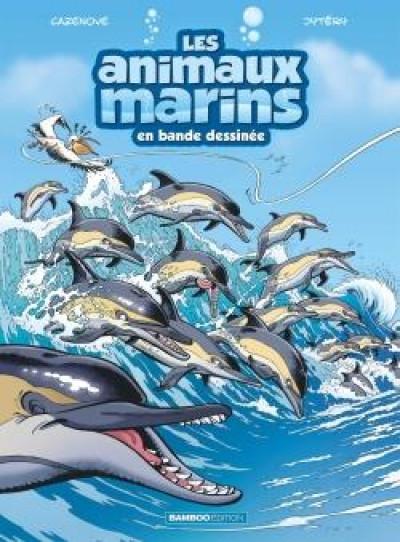 Couverture Les animaux marins en BD tome 5