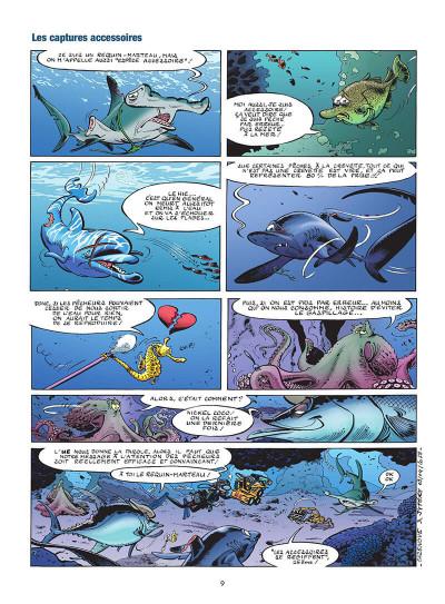 Page 0 Les animaux marins en BD tome 5