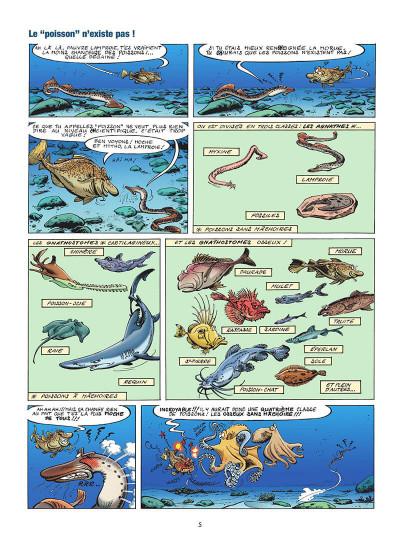 Page 6 Les animaux marins en BD tome 5