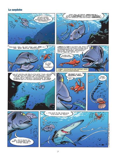 Page 8 Les animaux marins en BD tome 5