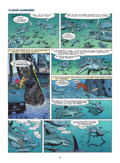 Page 9 Les animaux marins en BD tome 5