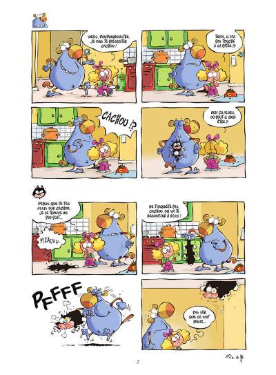 Page 8 Lily et doudoumonstre tome 1