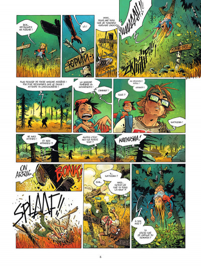 Page 7 Camp Poutine tome 2