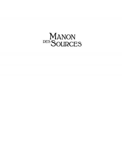 Page 2 Manon des sources tome 1