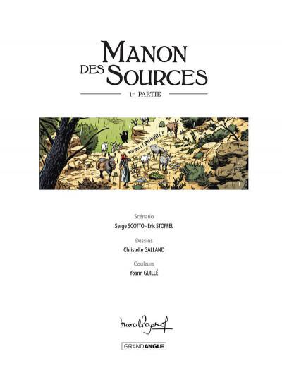 Page 4 Manon des sources tome 1