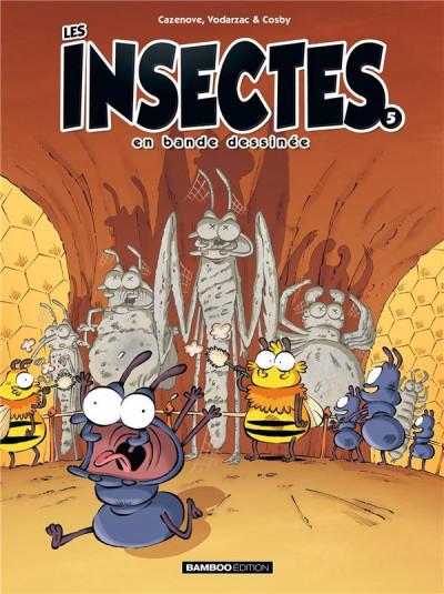 Couverture Les insectes en BD tome 5