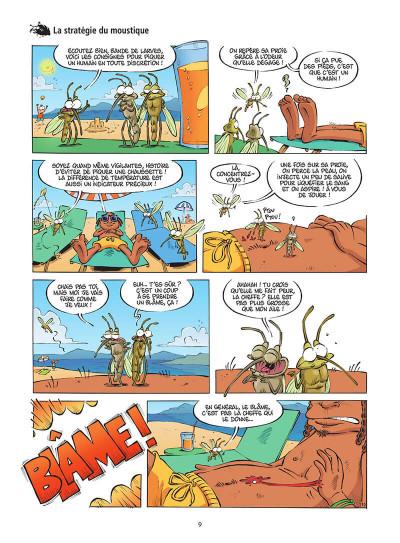 Page 0 Les insectes en BD tome 5