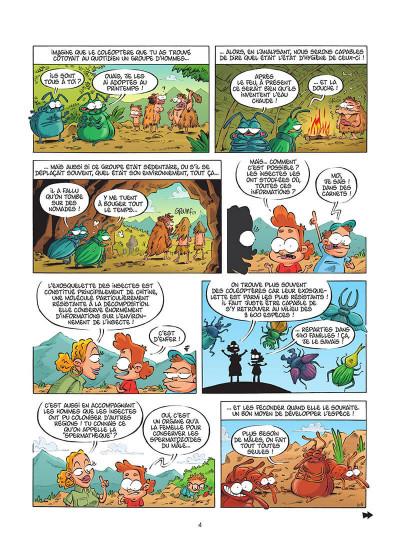 Page 5 Les insectes en BD tome 5