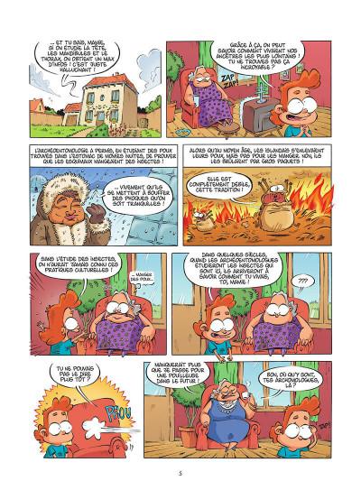 Page 6 Les insectes en BD tome 5