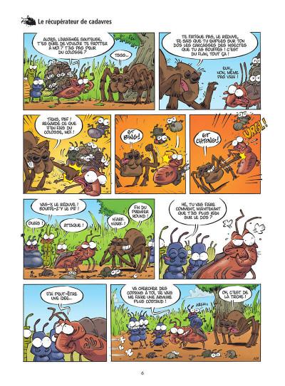 Page 7 Les insectes en BD tome 5