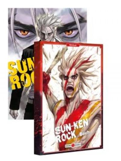 Couverture Sun-ken rock tome 1 + carnet offert